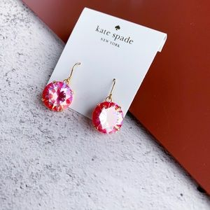 Kate Spade Shine On French Wire Earrings Pink